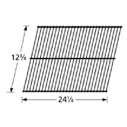 Music City Metals 92601 Steel Wire Rock Grate Replacement for Select Gas Grill Models by Arkla, Charmglow and Others