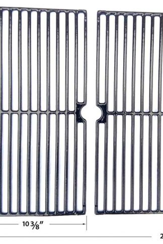 Porcelain Cast Iron Grates For BGB390SNP, GR2071001-MM-00, GR3055-014684, GR3055-14684 Members Mark Gas Models, Set of 2