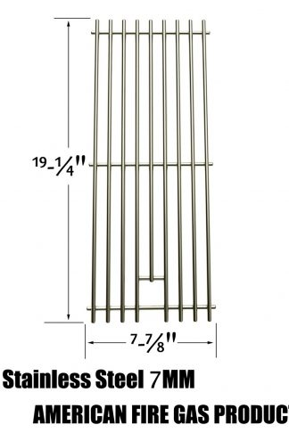 Stainless Cooking Grid For Ducane 30400041, BBQ Galore XG4TBWN, Nexgrill 720-0584A, 720-033, Turbo 4-Burner and Perfect Flame 720-0335, 730-0335 720-0057-4B, Gas Models