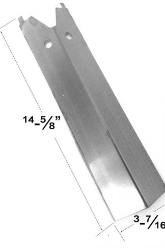 Stainless Heat Plate For BQ04023-2, BQ04025, BQ04028, BBQ Pro BQ04023, BQ04023-1 Gas Models