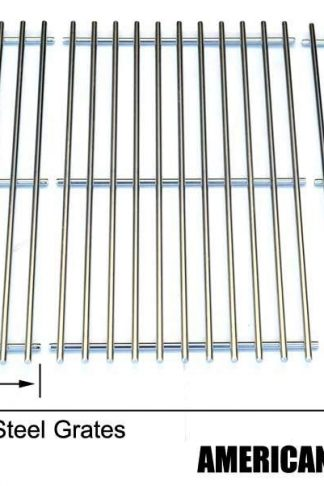Stainless Steel Cooking Grid for BHG H13-101-099-01, GBC1362W Backyard Classic BY12-084-029-98 and Uniflame GBC1059WB, GBC1059WB-C, GBC1143W-CGas Grill Models, Set of 3