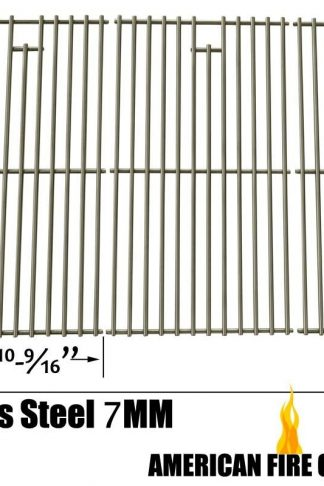 Stainless Steel Cooking Grid for Nexgrill 720-0709, 720-0709B, Kitchenaid, Brinkmann 810-1575-W and Charbroil 463241004, 463241904 Gas Grill Models, Set of 3