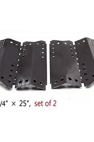Zljiont Porcelain Steel Heat Plate Replacement for Gas Grill Model Stok SGP4330SB - 2 Set