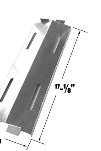 Bakers & Chefs ST1017-012939, ST1017-01, Master Forge GR1008-015039, BIG-8116, CG3023B, CG3023E, GD430 Stainless Heat Shield