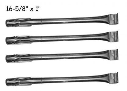 Bond GSF2818K, GSC3218WA, Uniflame GBC1069WB-C, GBC831WB, Smoke Hollow 7000CGS, Charmglow 810-2320 , 810-2320-B, GGPL-2100, SLG2006B, 2518SL-NG (4-PACK) Stainless Steel Grill Burner