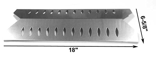 Heat Plate For Fiesta BP26040, BP26025-101, BP26040-BL423 and Grillrite BP26040 Gas Models