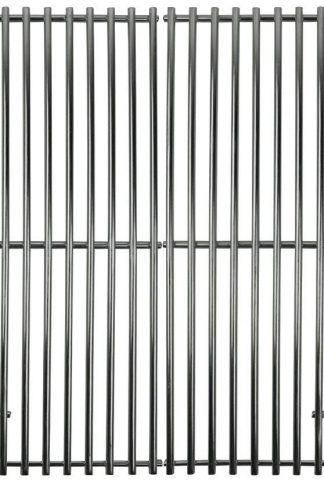 Music City Metals 5S672 Stainless Steel Wire Cooking Grid Replacement for Gas Grill Model Grill Master 720-0670E, Set of 2