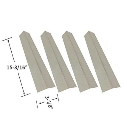 Outdoor Gourmet SRGG51112, SRGG51112A, SRGG51204A & Brinkmann 810-1455-S, 810-1456-S, 810-9425-W (4-PK) Stainless Heat Shield