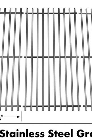 Stainless Cooking Grid for Charm-glow 810-8410-F, 810-8410-S 810-9415F, 810-9415-F, 810-9415W, 810-9415-W and BG1793B-A, 503225 Gas Grill Models, Set of 3