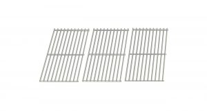 Stainless Cooking Grid for Master Forge IGS-01015J & Kenmore 119.162310, 119.16311, 119.16311800, 119.16312800, 16311, 640-784047-110, BQ06W1B, BQ06W1B Gas Grill Models, Set of 3