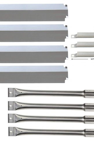 Bar.b.q.s Replacement Charbroil BBQ Gas Grill Burners, Crossover Tubes and Heat Plates