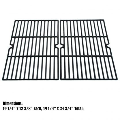 Direct store Parts DC107 Polished Porcelain Coated Cast Iron Cooking Grid Replacement Charmglow, Jenn-Air, Weber, BBQ Grillware, Costco Kirkland, Aussie, Grill Zone, Kenmore, Nexgrill Gas Grill
