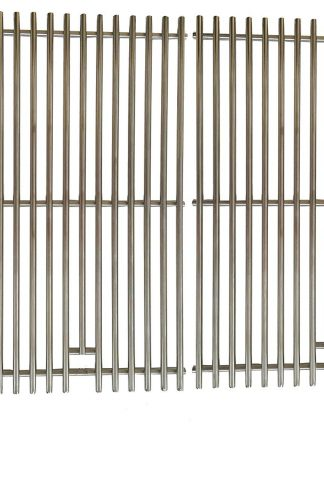 Grill Parts Zone 87528 AFTERMARKET 9mm Stainless Steel Cooking Grates for Weber Genesis E and S Series Gas Grills Models Set of 2