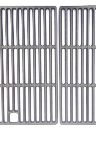 Grill Parts Zone Cast Iron Cooking Grid for GSF2818K, SLG2007B, 485RSIB, 85-3072-8, 85-3073-6, 85-3080-8, 85-3081-6, L485RSB Gas Models
