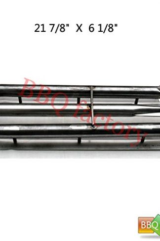 "bbq factory Replacement Stainless Steel Burner JBX481 (1-pack) Select Gas Grill Models By Viking and Others (21 7/8"" x 6 1/8"")"