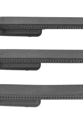 Grill Parts Zone 3 Pack Cast Iron Burner for Centro 4000, 4000AS G40205, Front Avenue 463241205, 463242304, 464246004, 466242404, 466242504, Costco Kirkland & Coleman 461230403 Gas Models