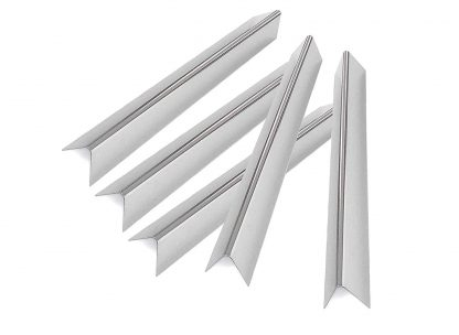 Grill Parts Zone 37535, 37534 (16 Ga.) Weber Stainless Steel Flavorizer Bars, Set of 5, Aftermarket