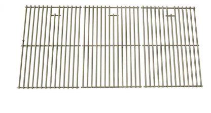 Grill Parts Zone Stainless Cooking Grid for Uniflame GBC772W, GBC772W-C, GBC873W, GBC873W-C, GBC873WNG, GBC873WNG-C Gas Models, Set of 3