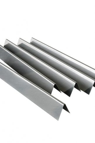 "5 Pack Gas Grill Replacement Stainless Steel Flavorizer Bars/Heat Plate for Weber 7537, Genesis Silver B and C, Spirit 700, Gold B and C and Weber 900, 22.5"" x 2.25"" x 2.375"""