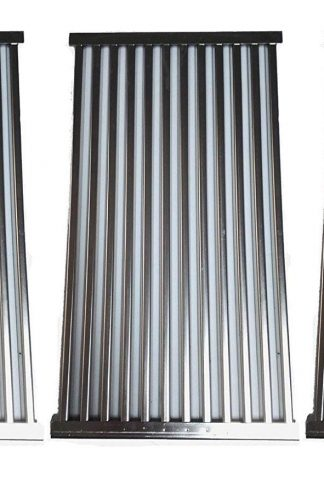 BBQ ration Set of 3 Stainless Steel Tubes Cooking Grid Replacement for Select Gas Grill Models by Kenmore, Master Forge and Others
