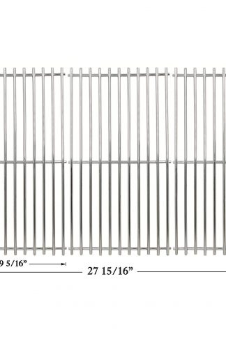 Hisencn Stainless SS Cooking Grid Grates Replacement Parts for Charbroil 463420508, 463420509, 463420511, 463436213, 463436214, 463436215, 463440109, 463441312, 463441514, 463461613, Thermos 461442114