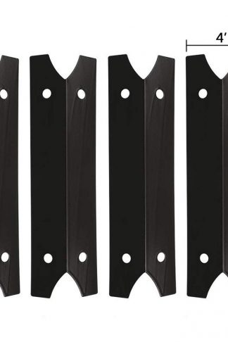 SHINESTAR Grill Replacement Parts for Smoke Hollow 7000CGS, 47183T, Brinkmann 810-9410-S, 810-9210-F, Outdoor Gourmet, Smoke Canyon, 14 1/4 inch Porcelain Steel Heat Shield Plate Tent Flame Tamer