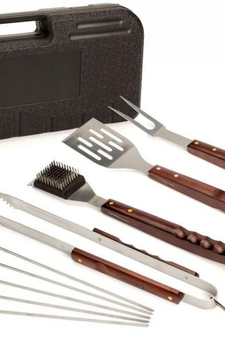 Cuisinart CGS-W18 18 Piece Wooden Handle Grill Set