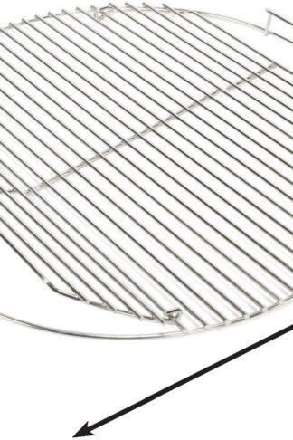 "Grill Care 17433 Stainless Steel Grid Compatible with Weber 18.5"" Charcoal Grills"