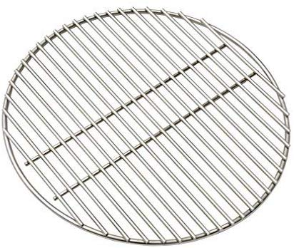 "KAMaster 17"" BBQ High Heat Stainless Steel Charcoal Fire Grate Fits for XL Big Green Egg Fire Grate and Other Grill Parts Charcoal Grate Replacement Accessories"