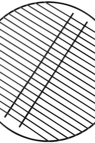 KAMaster 18 Inch Round Cooking Grate Porcelain Coated Steel Wire Charcoal Cooking Grid Grate Replacement for Large Big Green Egg,Kamado Joe Grill and Other 18 Inch Grills and Smoker