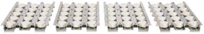 Coyote Ceramic Briquette Flame Tamer Set For 36'' Grills, C2BRIQ36