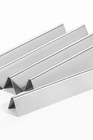"Replace parts 5 Pack 16 Ga Stainless Steel Flavorizer Bar Set for Weber Genesis 300 Series Gas Grills, Genesis, S310, E330, EP-330 Series Grills, Weber 7620(17.5"" x 2.38"" x 2.13"")"
