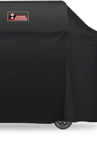 Kingkong 7131 Grill Cover for Weber Genesis II 4 Burner Grill including Brush, Tongs and Thermometer