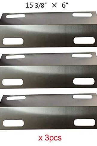 BBQ funland SH9351 (3-Pack) Stainless Steel Heat Plate Replacement for Select Ducane Gas Grill Models, 30501013