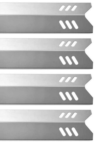 BBQration Grill Replacement Parts Heat Plate for Backyard Grill BY13-101-001-13, BY14-101-001-02, BY15-101-001-02, Dyna-Glo, Uniflame GBC1059WB, BHG, 15 inch Stainless Steel Heat Plate (5-Pack)
