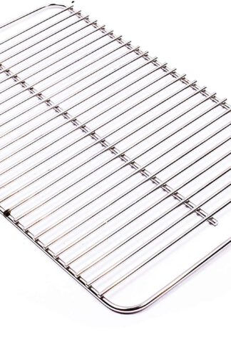 "Broilmann 80631 Stainless Steel Cooking Grate for Weber Go-Anywhere, Replaces Weber 70211 & 3634, Fits Weber Charcoal and Gas Go-Anywhere grills, 16"" x 10"""