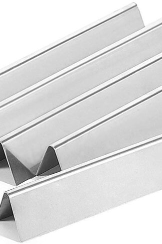 Broilmann Weber 7620 Gas Grill Stainless Steel Flavorizer Bar Replacement Set (5 Pack) for Gas Grills, Weber 300 Series Gas Grill Vaporizor Bar Aftermarket(17.5 x 2.25 x 2.375inches, 16 Ga.)