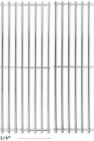 Hisencn 7521 65905 7522 7523 65904, Solid Rod Stainless Steel Cooking Grate Grids Replacement for Weber Genesis Silver A, Spirit 500, Spirit E 200, Spirit E-210, Spirit S 200, Spirit S 210 Models