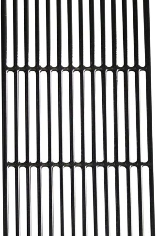 "Hongso PCG241 (1-Pack) Porcelain Coated Cast Iron Cooking Grid Grate Replacement for Kenmore 148.16656010, 148.2368231, 640-05057386-, 90118 and Master Forge SH3118B4 (17 5/8"" x 8 3/4"")"
