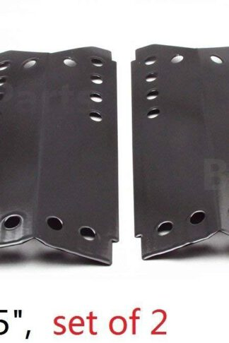 Hongso PPD332 Porcelain Steel Heat Plates, Heat Shield, Heat Tent, Burner Cover, Vaporizor Bar Replacement for Gas Grill Model Stok SGP4032N, SGP4130N, SGP4330, SGP4330SB, Set of 2 (14 1/4 X 25)