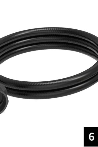Kohree 6 ft Propane Adapter Hose 1lb to 20lb, Weber Q1200 Q1000 Gas Grill Propane Stove Hose Adapter Converter Kit for QCC1/Type1 Tank Connect to 1 lb Bulk Portable Appliances to 20 lb Propane Tank