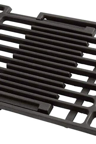 Unicook Porcelain Cast Iron Grill Grate, Cooking Grate, Outdoor Barbecue Gas Grill Replacement Parts, 8'' Width, Extends from 14 Inch to 20 Inch in Deep, Universal Size Adjusts to Fit Most Gas Grills