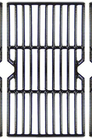 "VICOOL 16 15/16"" Grill Grate Porcelain Coated Cast Iron Cooking Grid for Charbroil 463343015, Kenmore, Broil King, Master Chef Gas Grill Models, G467-0002-W1, Set of 3, HyG612C"