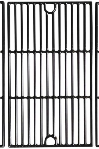 "VICOOL 17 5/8"" Cooking Grid Grates Porcelain Coated Cast Iron Grill Replacement Parts for Brinkmann, DYNA-GLO DGF530SRP, Grill King 810-9325-0 Gas Grills, HyG723C"