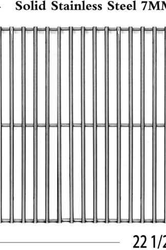 Votenli S5421A (1-Pack) Stainless Steel Cooking Grid Grates for Charbroil 463722313, Charbroil 463722314, Charbroil 463742111