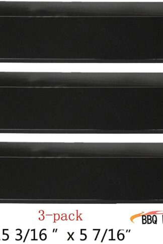 93031 (3-pack) Stainless Steel Heat Plate Replacement for Sonoma, Coleman, Tuscany, Lowes Model and Other Grills