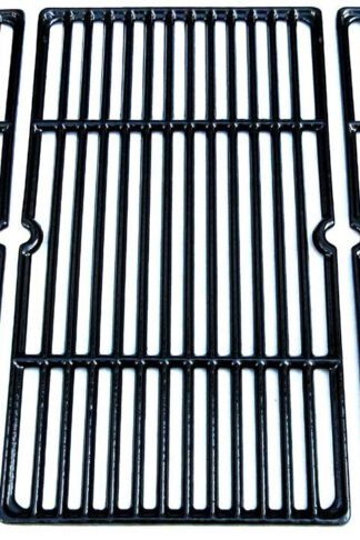 Direct Store Parts DC113 Polished Porcelain Coated Cast Iron Cooking Grid Replacement Charbroil, Cuisinart, Kenmore, Tuscany Gas Grill