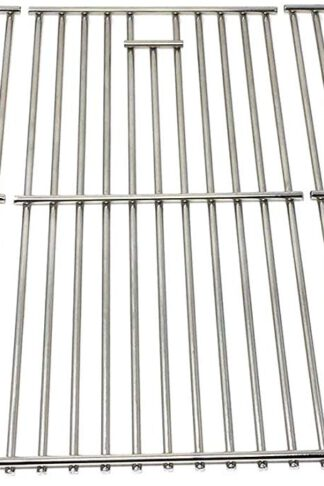 Grill Parts Zone Stainless Steel Cooking Grid for BHG BH12-101-001-02, GBC1273W, Uniflame & Brinkmann 810-1455-S, 810-1456-S, 810-9419-1, 810-9425-W, Set of 3