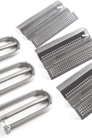 Grill Valueparts Grill Kit for AOG 24NB, 24NG, 24NP, 24PC, 30NB, 30PC, 36NB, 36PC, 24-B-06 3pcs AOG Grill Tube Burner, 3pcs AOG Heat Plate