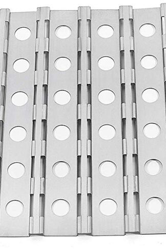 Replace parts Heat Plate Replacement for Alfresco ALX2-30, ALX2-30C, ALX2-30CD,ALX2-56, ALX2-56BFG, ALX2-56BFGC (Stainless Steel Heat Plate-3 Pack)
